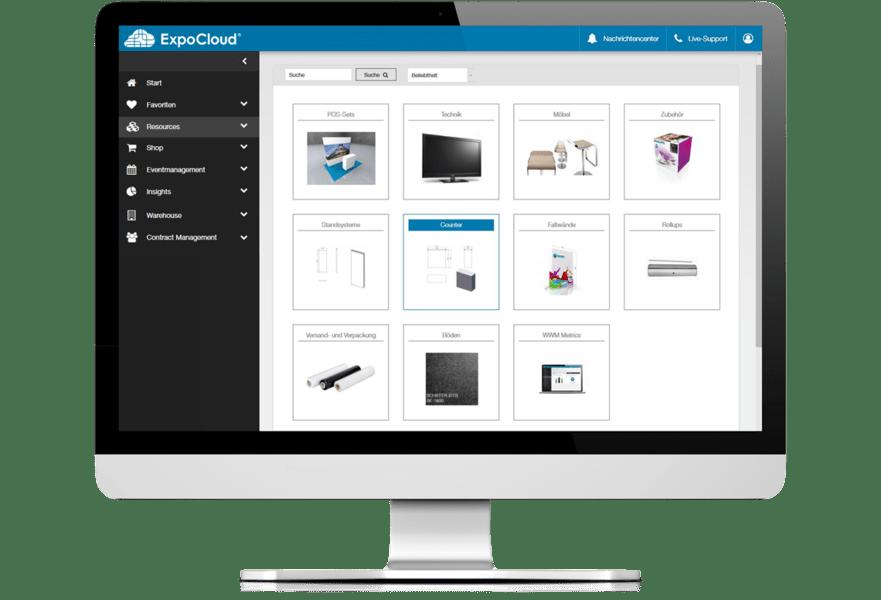 ExpoCloud Mietequipment Management